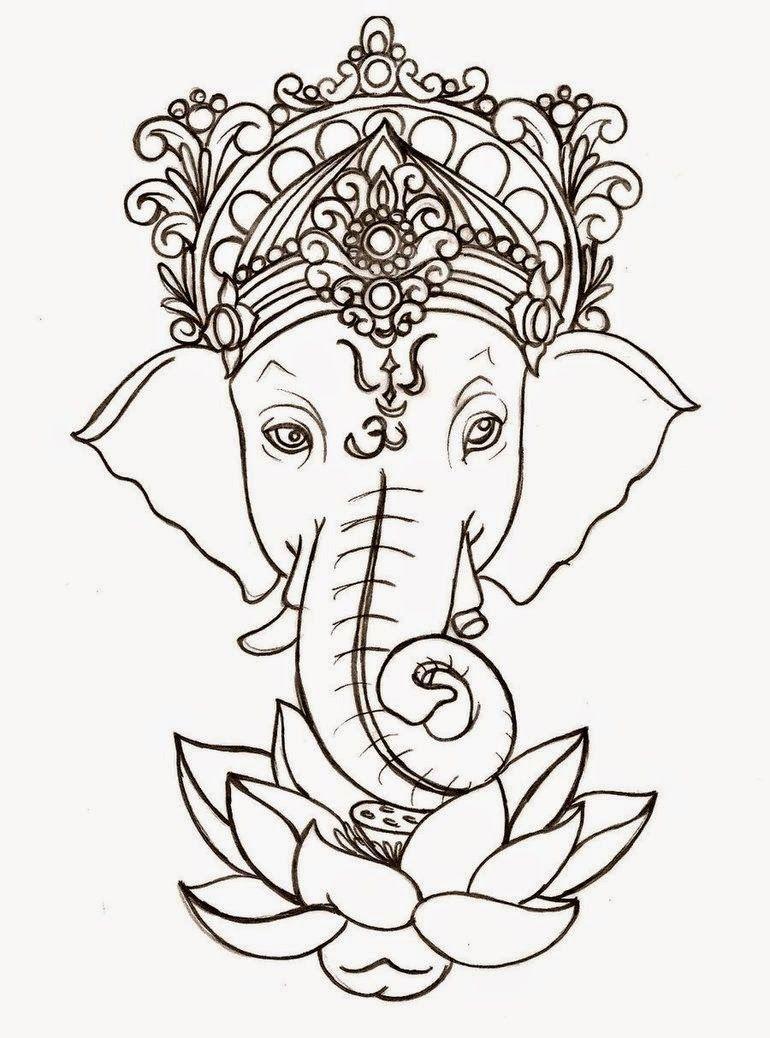 ganesh-flower-decoration