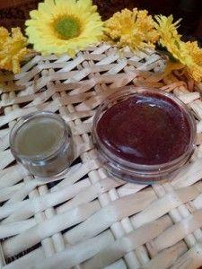 balsamo labial aceite de coco y cera de abejas