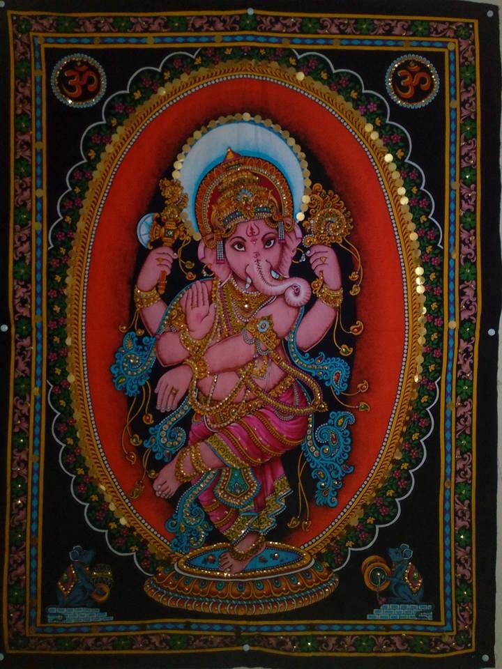 Ganesha, un dios hindú que adora medio mundo. 6