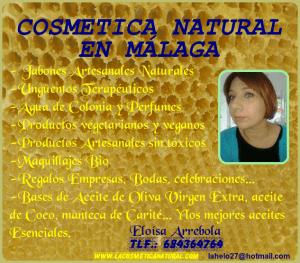 Cosmética Natural Málaga Jabones Naturales Marbella Cosmetica Ecológica Estepona Jabones Veganos Málaga Aceites Esenciales www.lacosmeticanatural.com Aceite Oliva Virgen Extra